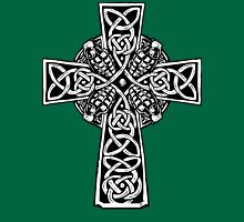 Irish Cross With Grenades (BW edition) Unisex T-Shirt