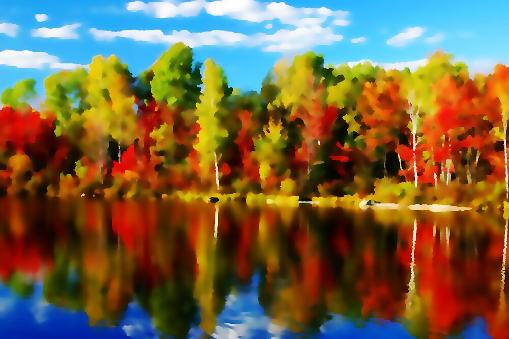 Autumn Reflections by Terry Bailey