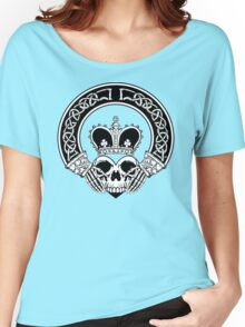 Claddagh (BW edition) Women's Relaxed Fit T-Shirt