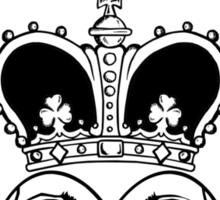 Claddagh (BW edition) Sticker