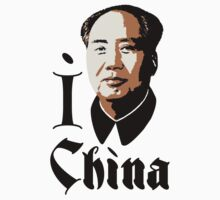 I LOVE CHINA T-shirt by ethnographics