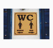 WC sign, Croatia Kids Tee