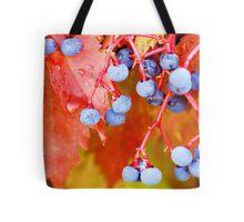 Vibrant Grape Vines Tote Bag