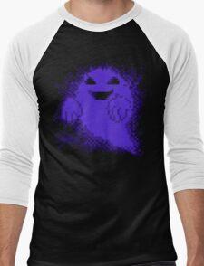 Ghost! purple edition Men's Baseball ¾ T-Shirt