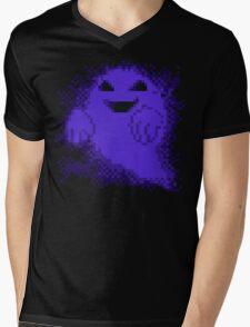 Ghost! purple edition Mens V-Neck T-Shirt