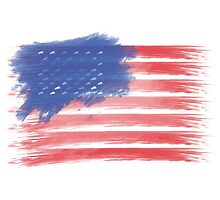 United States of America Flag USA by T J B