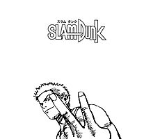 SLAM DUNK Hanamichi Sakuragi Design Photographic Print