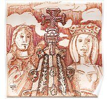 Jerónimos sketch I Poster
