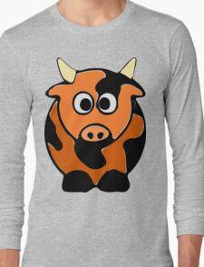 ღ°㋡Cute Brindled Cow Clothing & Stickers㋡ღ° Long Sleeve T-Shirt