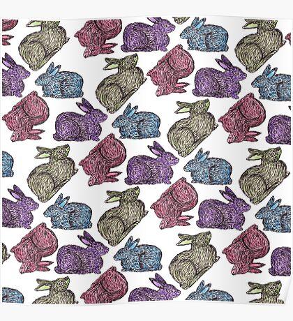 Bunnies! Poster