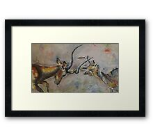 Stand for your Love - Mating Season Framed Print
