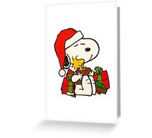 snoopy Greeting Card