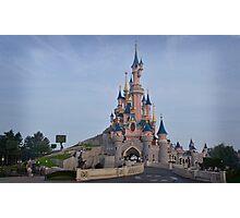 Sleeping Beauty's Castle Photographic Print
