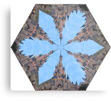 Castle Kaleidoscope Image Metal Print