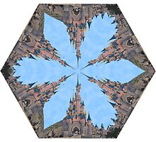 Castle Kaleidoscope Image Photographic Print
