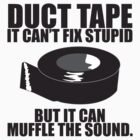 Duct Tape Can't fix stupid.... by jeastphoto