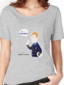 Cabin Pressure - Capitan Crieff Women's Relaxed Fit T-Shirt