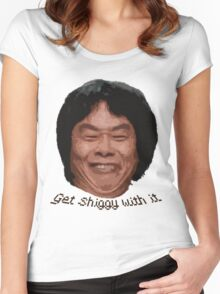 Get Shiggy with it Women's Fitted Scoop T-Shirt