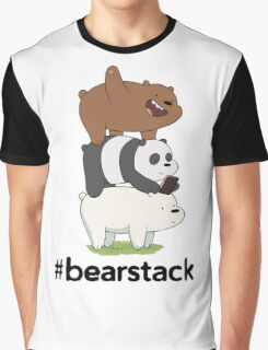 #Bearstack Design Graphic T-Shirt