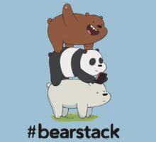 #Bearstack Design One Piece - Short Sleeve