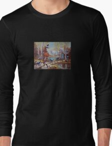 Hallowe'en Comes to Town Long Sleeve T-Shirt