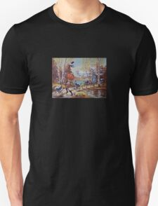 Hallowe'en Comes to Town Unisex T-Shirt