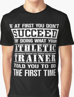 Athletic Trainer Proud Graphic T-Shirt