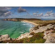 The Deserted Beach Photographic Print