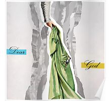 God's hand contemporary collage Poster