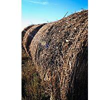radiant hay bales Photographic Print