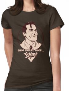Ash from Evil Dead Womens Fitted T-Shirt