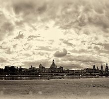 """""""old Skyline"""" (yellowed) by Andreas Koerner"""