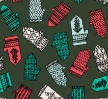 Mittens - Green by Andrea Lauren  Sticker