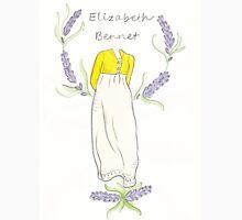 Elizabeth bennet silhouette Unisex T-Shirt