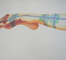 Tattooed Ankle #2 by janfitc
