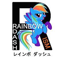 Rainbow-Dashism: MLP FiM Photographic Print