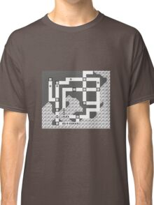 Kanto Town Map Pokemon Red, Blue, and Yellow Classic T-Shirt