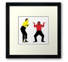 The Fast Show - Jack Pott and Tom Bowler Framed Print