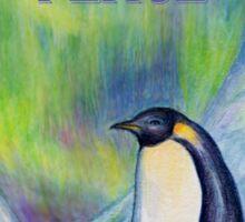 Peace Penguin Sticker