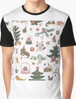Happy New Year pattern Graphic T-Shirt