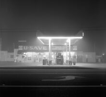U-Save in fog by Harry Snowden