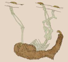Skeleton Of A Sloth T-Shirt