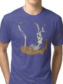 Skeleton Of A Sloth Tri-blend T-Shirt