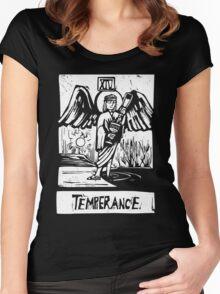 Temprence  - Tarot Cards - Major Arcana Women's Fitted Scoop T-Shirt