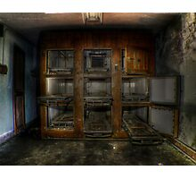 Abandoned Hospital Photographic Print