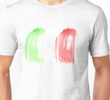 Brush Flag of Mexico Unisex T-Shirt