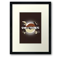 Game of Masters Framed Print