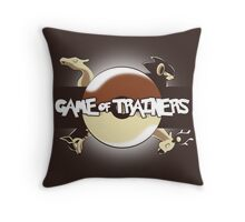 Game of Masters Throw Pillow