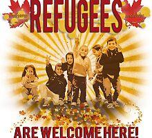Refugees Welcome by Shawna Mac