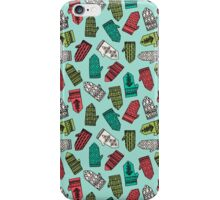 Mittens - Mint by Andrea Lauren  iPhone Case/Skin